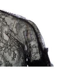 Roberto Cavalli Black Spitze Hemd
