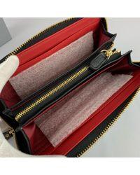 Vivienne Westwood Black Leder Portemonnaies