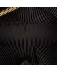 Fendi Black 2jours Leder Handtaschen