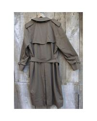 Manteaux Burberry pour homme en coloris Gray