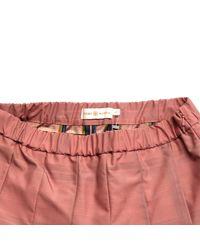Tory Burch Pink Polyester Skirt
