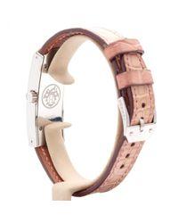 Reloj Kelly II Hermès de color Pink