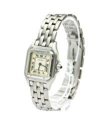 Cartier Metallic Panthère Uhren