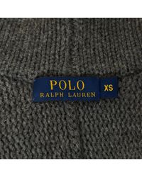 Polo Ralph Lauren Gray Wolle Lange Weste