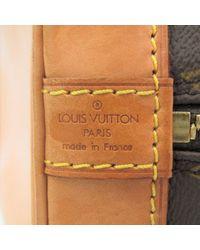 Borsa a mano in tela marrone Alma di Louis Vuitton in Brown