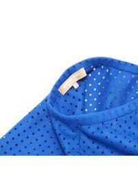 Robe en Suede Bleu Michael Kors en coloris Blue