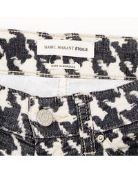 Étoile Isabel Marant Black Cotton Trousers