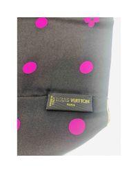 Sciarpa in seta multicolore di Louis Vuitton