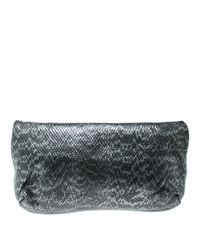 Lanvin Gray Happy Leder Clutches