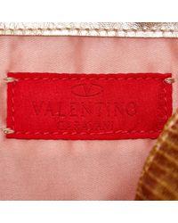 Sacs à main Valentino en coloris Metallic