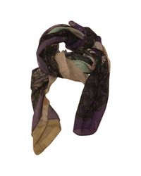 Givenchy - Multicolor Pre-owned Multicolour Cotton Scarves - Lyst