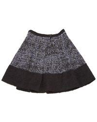 Proenza Schouler Blue Cotton Skirt