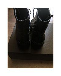 Stivali in Pelle di Chanel in Black