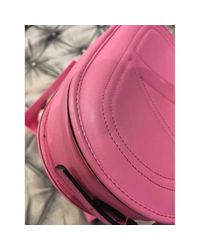 Bolsa de mano en cuero rosa \N Valentino de color Pink