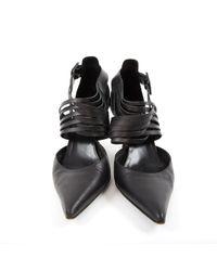 Escarpins \N en Cuir Noir Hermès en coloris Black