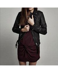 AllSaints Black Mini Kleid