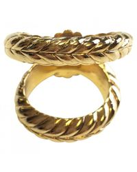 Dior - Metallic Scarf Ring - Lyst