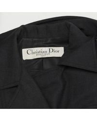 Dior Black Wool Jacket