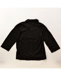 Top en Coton Noir Comme des Garçons en coloris Black
