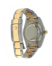 Montres DateJust II 41mm en Or et acier Blanc Rolex pour homme en coloris Multicolor