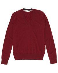 Tory Burch Red Burgundy Cashmere Knitwear