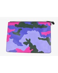 Moschino Multicolor Leder Clutches