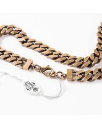 Emilio Pucci Metallic \n Gold Metal Belt