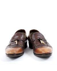 Tom Ford Leder mokassins in Brown für Herren