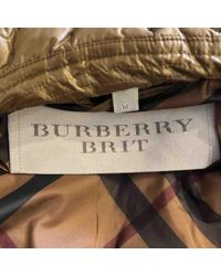 Burberry Natural Anorak