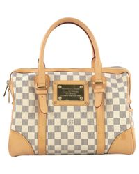 Louis Vuitton Metallic Berkeley Leinen Handtaschen