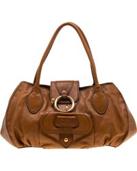 Cartable en cuir Tod's en coloris Brown
