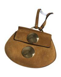 Chloé Brown Pre-owned Mini Bag
