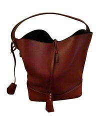 Louis Vuitton Red Nn14 Leder Handtaschen