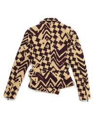 Vest en Tweed Beige Christian Lacroix en coloris Multicolor