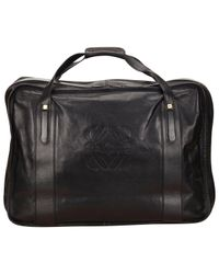 Loewe Black Leather