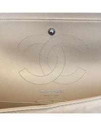 Borsa a mano in pelle beige 2.55 di Chanel in Natural