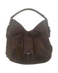 Ferragamo Brown Leather Handbag
