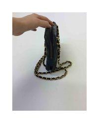 Chanel Black Camera Leder Handtaschen