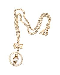 Chanel - Metallic Pre-owned Gold Metal Necklaces - Lyst