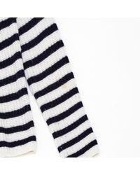 Joseph Blue Pre-owned Ecru Cashmere Knitwear