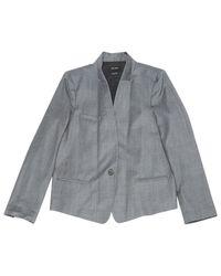 Isabel Marant Gray Grey Viscose Jacket