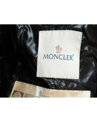 Moncler Black Fur Hood Anorak