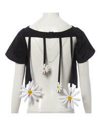 Top \N en Coton Noir Natasha Zinko en coloris Black
