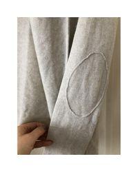 Zadig & Voltaire Gray Grey Cashmere Knitwear