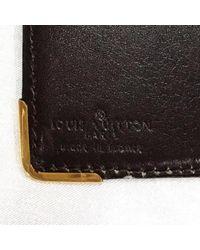 Louis Vuitton Brown Kartenhalter