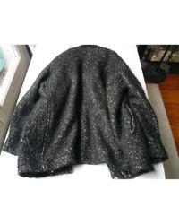 IRO Black Wool Coat