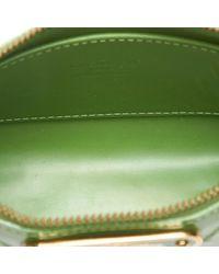 Bolsos de viaje en charol verde \N Louis Vuitton de color Green