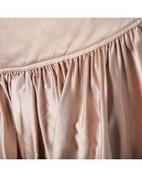 Chloé \n Pink Viscose Skirt