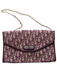 Dior Brown Cloth Handbag