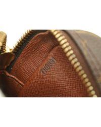 Louis Vuitton Brown Amazon Leinen Handtaschen